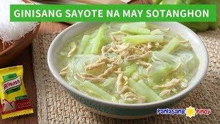 Ginisang Sayote na may Sotanghon - Day 3