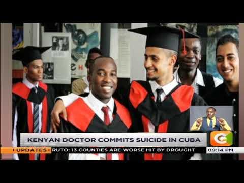 Kenyan doctor commits suicide in Cuba