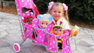 Diana - Little Mommy for Baby doll Kids Toys video for kids