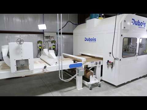 Dubois Equipment Reciprocating Spray Line