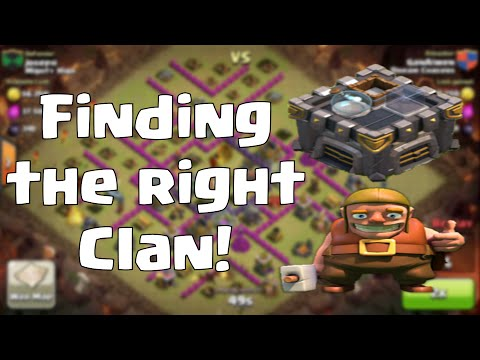 Clash Of Clans - How To Find A Good Clan