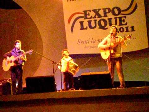 Lucas Gaona. Niño prodigio. Expo Luque. Radio Asunción 1250 A. M.