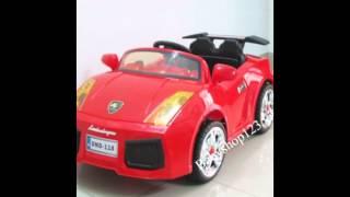 Mẫu ô tô màu đỏ năng động cho bé yêu nhà bạn
