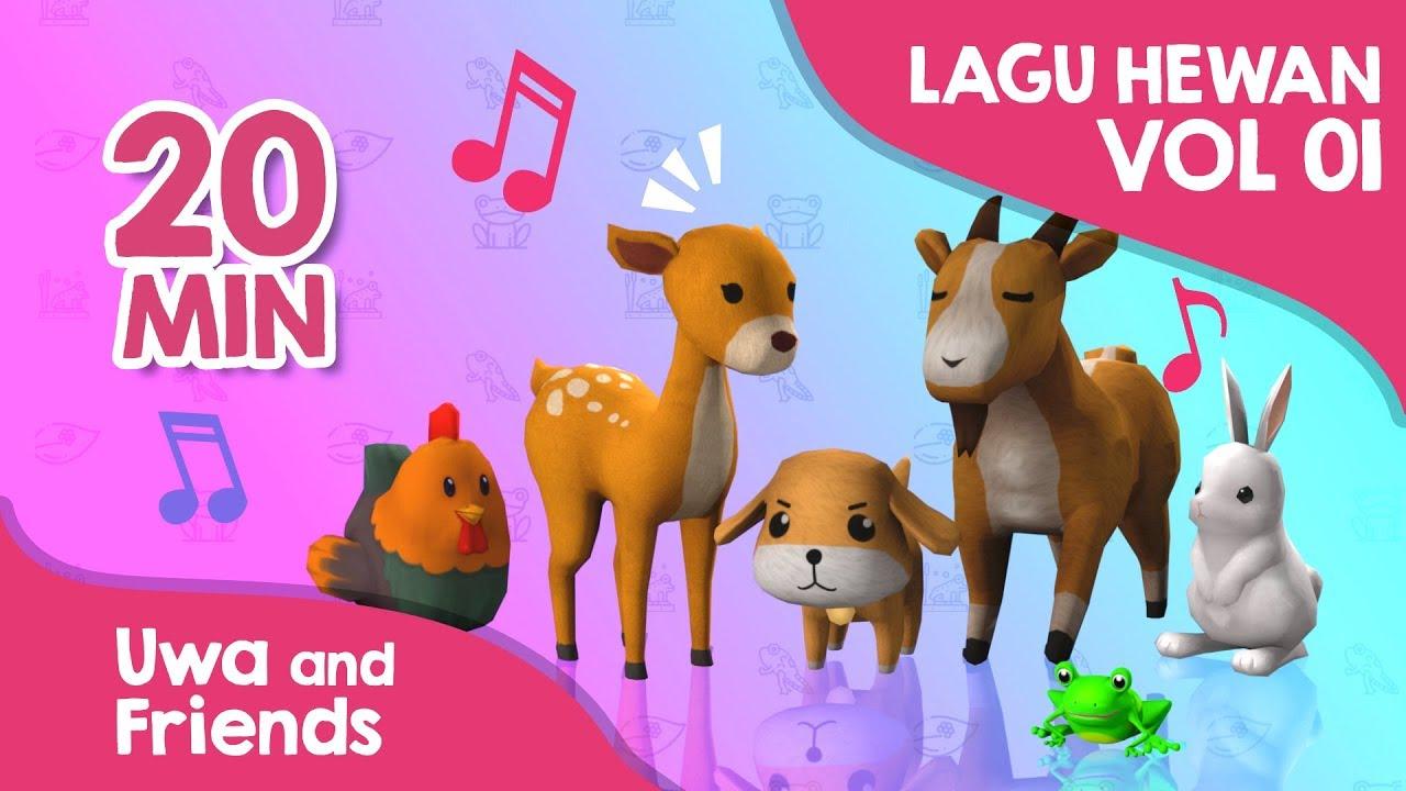 Download Kumpulan lagu belajar hewan baru vol 01 - Kukuruyuk Heli Cacamarica Kelinciku