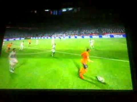 Van der vaart's amazing goal in the world cup