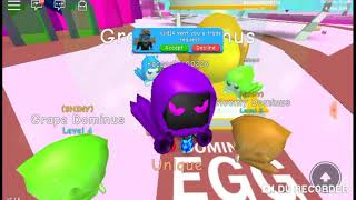 Roblox bublle gum Simulator nowy updated dominus egg