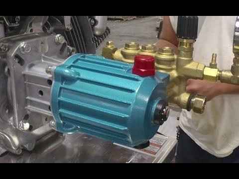 Typhoon Blaster 4000 psi Cat pump Installation tutorial