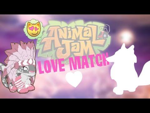 WHO'S MY ANIMAL JAM LOVE MATCH?!
