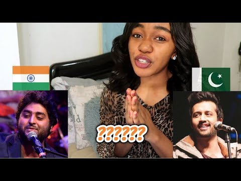 Indian Singers Vs Pakistani Singers Battle (INDIA VS PAKISTAN) | REACTION
