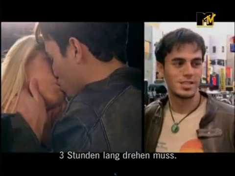 Making of The  Escape  Enrique Iglesias Anna Kournikova