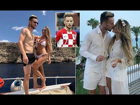 2ee12f9de Breaking News - Ivan Rakitic poses on luxury boat with wife on post-World  Cup break