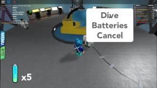 Roblox - Pokemon Brick Bronze - UMV Diving