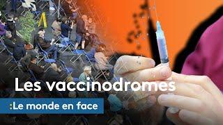 Covid-19 : quel rôle jouent les vaccinodromes en Allemagne, Belgique, Etats-Unis et Cisjordanie ?