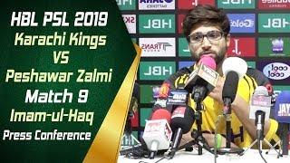 HBL PSL 4 | Match 9 Karachi Kings vs Peshawar Zalmi Post Match Press Conference | Imam-ul-Haq