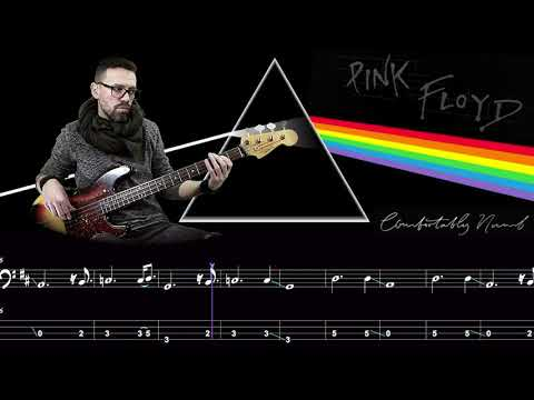 Comfortably Numb - Bass Cover Score and Tab