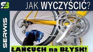 Czyszczenie łańcucha i napędu w rowerze. Serwis roweru z SzajBajk.