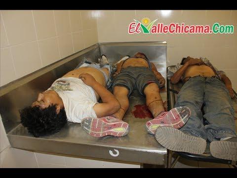 Informe Completo de asesinato de tres hombres en Casa Grande