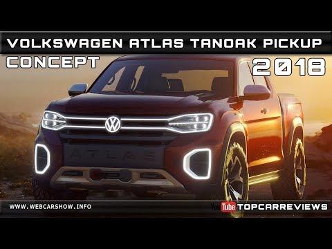 2018 VOLKSWAGEN ATLAS TANOAK PICKUP CONCEPT Review Rendered Price Specs Release Date