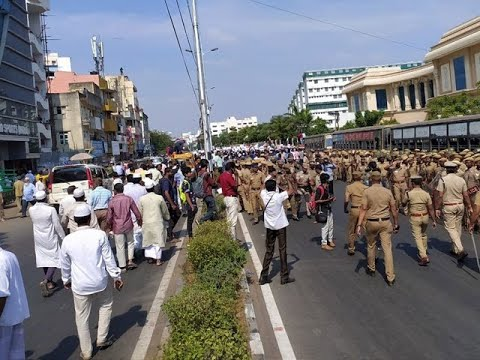 Muslim bodies defy Madras HC order, hold anti-CAA agitation in Chennai