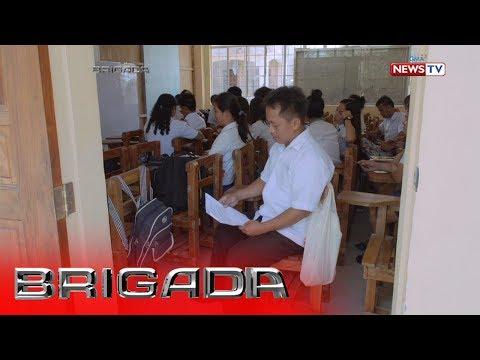 Brigada: 37-taong gulang na ama, pinagsasabay ang pag-aaral at pagtatrabaho para sa pamilya