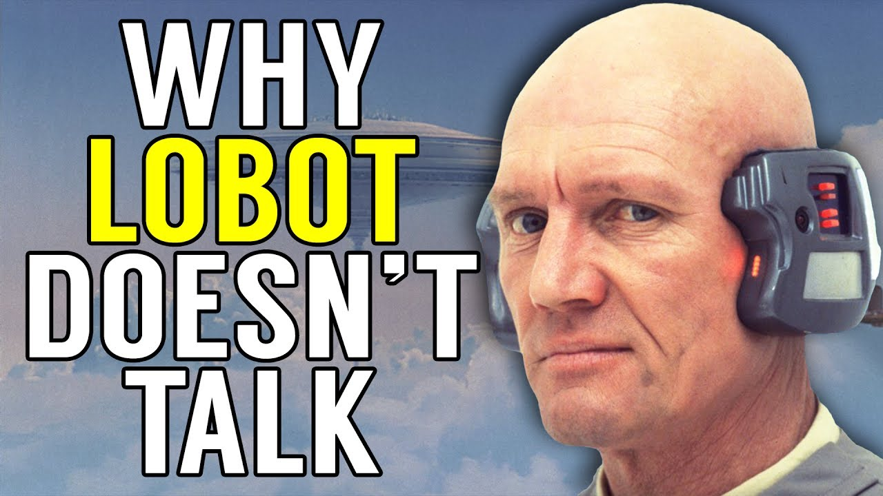 why lobot doesn t talk star wars explained canon youtube