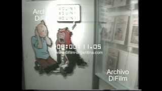 DiFilm - Museo con historietas de Tintin (1991)