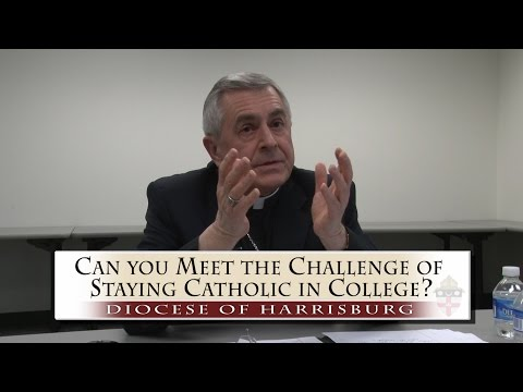 CanYou Meet the Challenge of Staying Catholic in College?