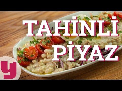 Tahinli Piyaz Tarifi (Usulü Antalya'dan!)...