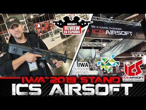 IWA 2019 ICS - HERA ARMS, MAKAROV PM2 Y KORTH | Airsoft Review en Español