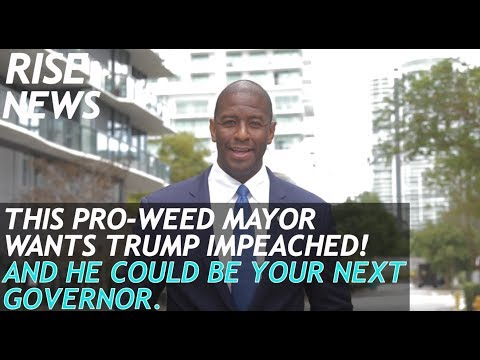 Andrew Gillum: The pro-weed progressive Mayor who may be Florida's next governor