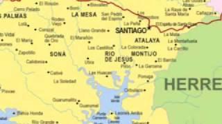Panama, Veraguas, Sona, Road to Sona
