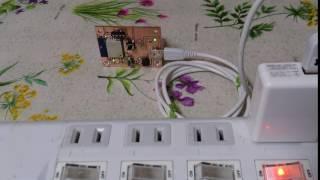 焦電センサとWifi接続確認