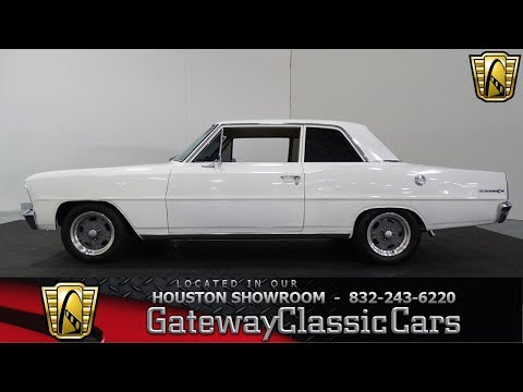 1967 Chevrolet Nova II Gateway Classic Cars #914 Houston Showroom