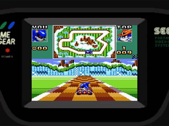 Sonic Drift 2 (GG) Chaos GP White