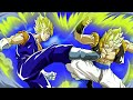 Vegetto Forma Base vs Gogetto Forma Base full fight