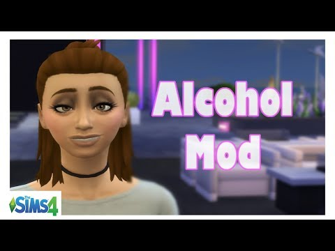 The Sims 4| Alcohol Mod| Mod Review - YouTube