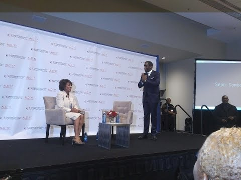 "Sean ""Diddy"" Combs interviewed by US Rep. Maxine Waters #CBCFALC17"