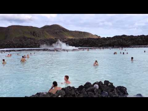 The Famous Geothermal Heated Blue Lagoon - Iceland - July 6, 2012