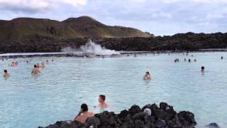 the famous geothermal heated blue lagoon iceland july 6 2012
