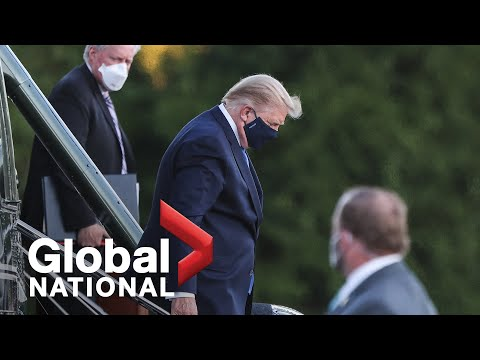 Global National: Oct. 3, 2020 | Trump remains in hospital as questions raised about his treatment