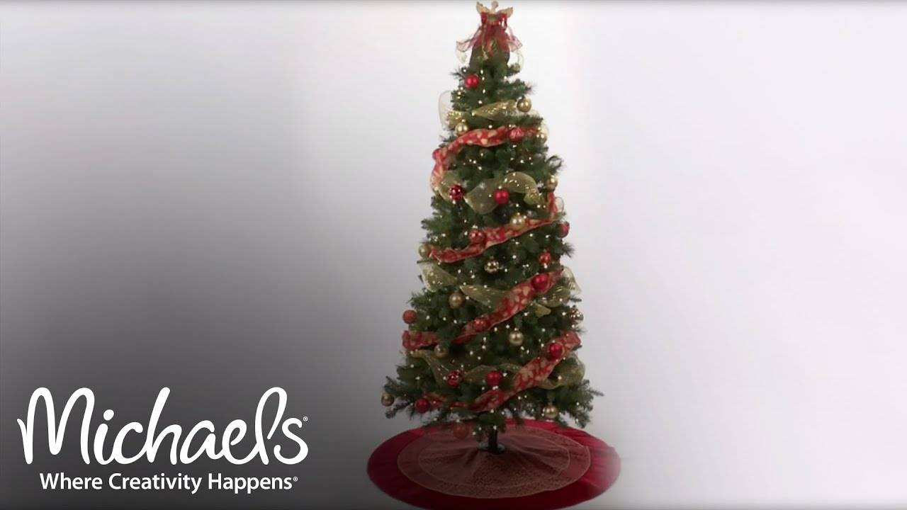 Refresh Your Tree with Ribbon & Mesh Holiday Tree Décor