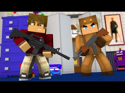IT'S TIME TO KILL THEM ALL! HE SHOT MOOSE!? Five Nights At Freddys (Minecraft Roleplay)