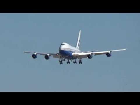 Las Vegas Sands Corp. 747SP-21(VQ-BMS) arrives at Las Vegas!
