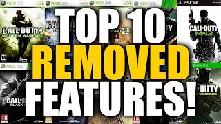 Top 10 REMOVED Features in Call of Duty History! (What Happened..?)