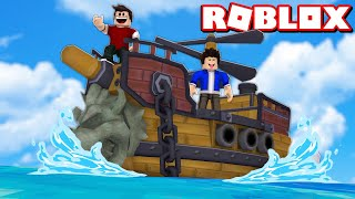 We BUILT the BOAT/SHIP (Build A Boat For Treasure Roblox)
