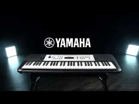 yamaha ypt 260 61 key portable keyboard gear4music demo. Black Bedroom Furniture Sets. Home Design Ideas