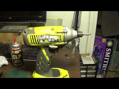 Cleaning Power Tools with CLP
