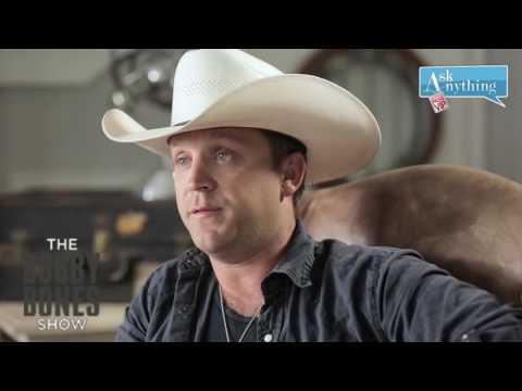 Justin Moore Interactive Chat w/ Bobby Bones  - AskAnythingChat