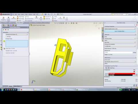 Video Archive: SOLIDWORKS Costing