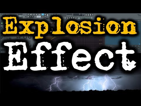 HARDSTYLE SOUND EFFECTS | How to Make Explosion Sound Effect | Thunder Sound Effect FL Studio